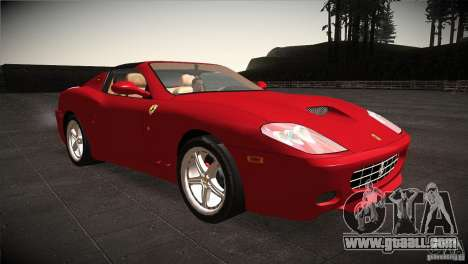 Ferrari 575 Superamerica v2.0 for GTA San Andreas back view