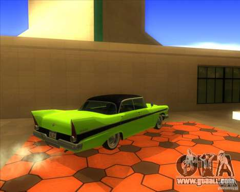 Plymouth Belvedere Sport Sedan 1957 for GTA San Andreas right view