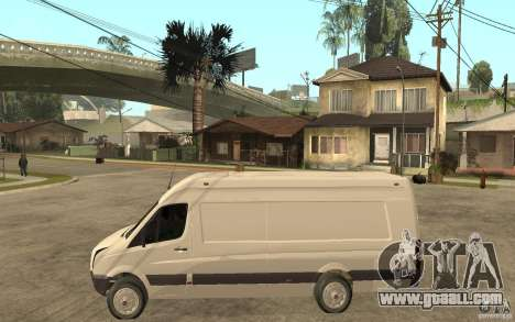 Volkswagen Crafter 2010 TDI for GTA San Andreas left view
