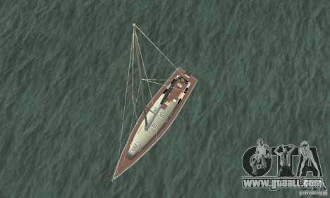 Marquis Segelyacht 09 Textures for GTA San Andreas right view