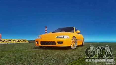 Honda Civic Tuned for GTA 4