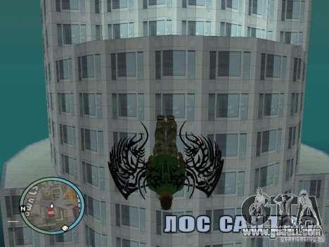 Wings-Wings for GTA San Andreas third screenshot