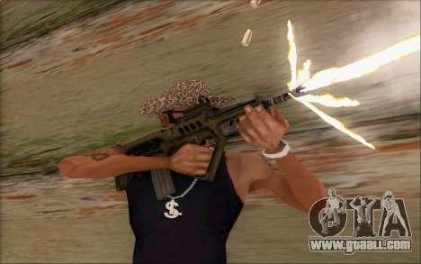 Tavor ctar-21 from WarFace v2 for GTA San Andreas forth screenshot