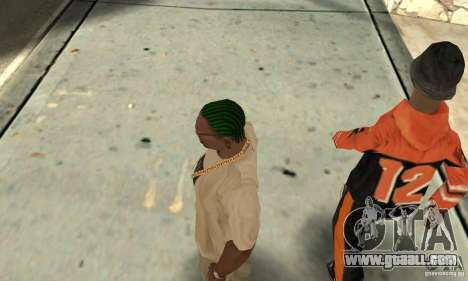 Green kornrou for GTA San Andreas third screenshot