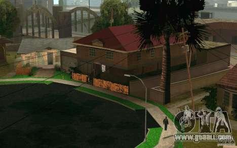 New home on Grove Street CJ for GTA San Andreas fifth screenshot