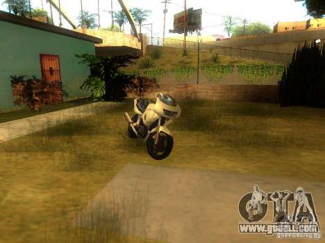 New Car in Grove Street for GTA San Andreas seventh screenshot