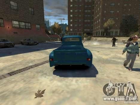 Gaz 52 HotRod for GTA 4 back left view