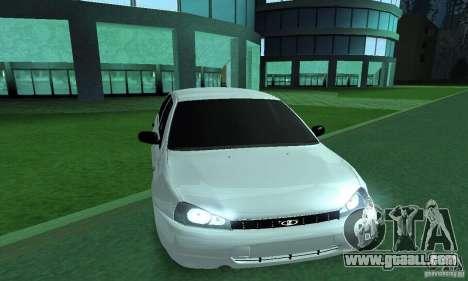 Lada Kalina Hatchback for GTA San Andreas back left view