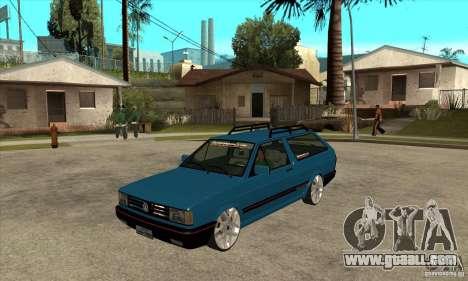 VW Parati GLS 1989 JHAcker edition for GTA San Andreas
