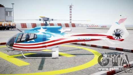 Eurocopter EC 130 B4 USA Theme for GTA 4 left view