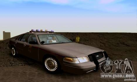 Ford Crown Victoria Mississippi Police for GTA San Andreas