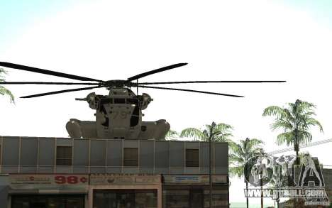 CH 53E for GTA San Andreas side view