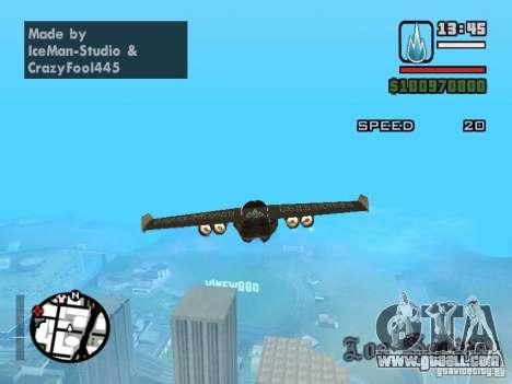 Jetwing Mod for GTA San Andreas third screenshot