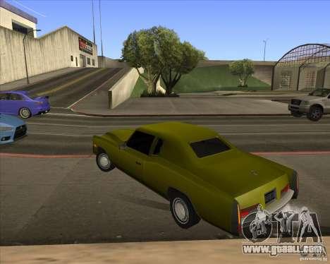 HD Esperanto for GTA San Andreas inner view