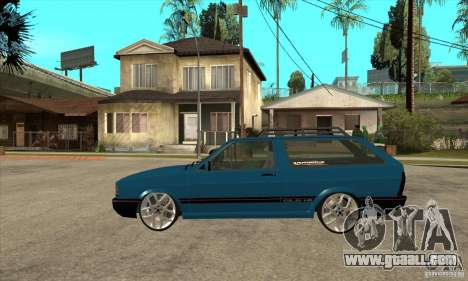 VW Parati GLS 1989 JHAcker edition for GTA San Andreas left view