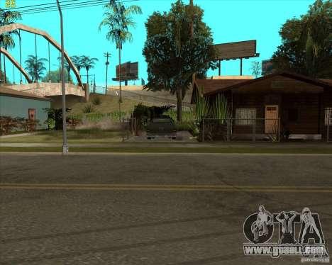 Car in Grove Street for GTA San Andreas third screenshot