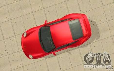 Porsche 911 (997) Turbo v3.0 for GTA San Andreas back view