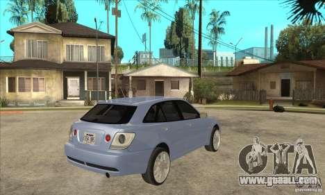 Toyota Alteza Wagon for GTA San Andreas right view