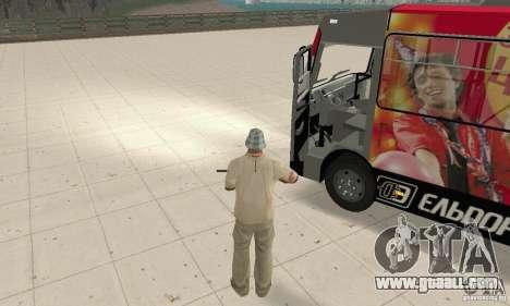 Bogdan A091 for GTA San Andreas back view