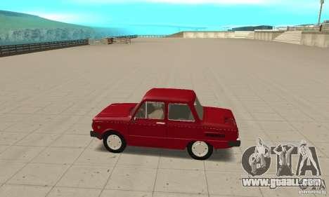 ZAZ 968 m for GTA San Andreas left view