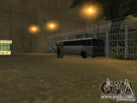Bus Park v1.1 for GTA San Andreas forth screenshot