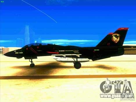 F-14 Tomcat Razgriz for GTA San Andreas left view