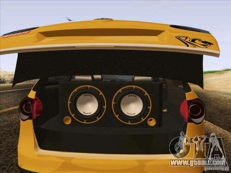 Volkswagen Passat B6 Variant for GTA San Andreas wheels