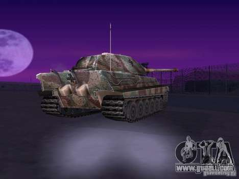 Pzkpfw VII Tiger II for GTA San Andreas right view