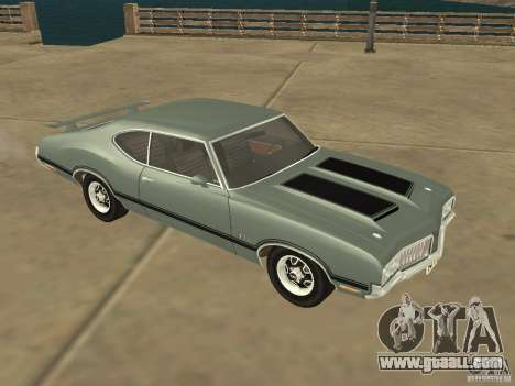 Oldsmobile 442 Cutlass 1970 for GTA San Andreas left view