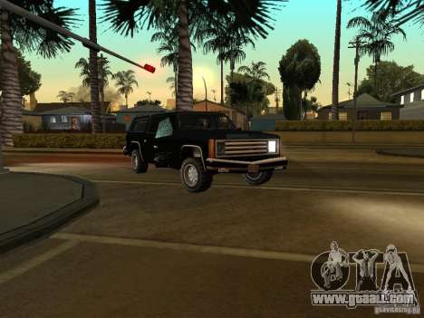 Camouflaged cops for GTA San Andreas third screenshot