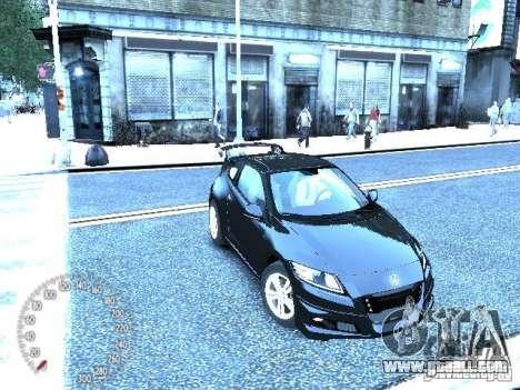 Honda Mugen CR-Z for GTA 4 left view