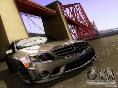 Mercedes-Benz C36 AMG for GTA San Andreas engine