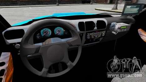 Chevrolet Blazer 2010 PMERJ ELS for GTA 4 back view