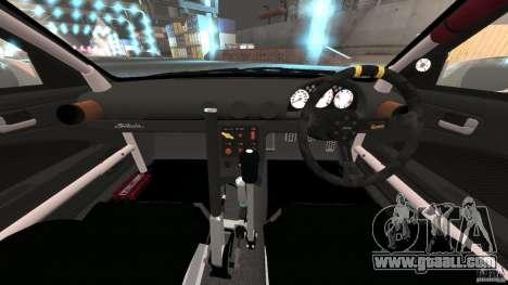 Nissan Silvia S15 Drift for GTA 4 back view