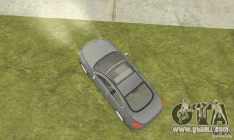 2004 BMW 645ci E63 with white interior for GTA San Andreas back left view
