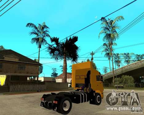 KAMAZ 5460M TAI version 1.5 for GTA San Andreas back left view