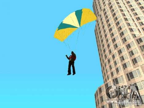 Parachute from TBOGT for GTA San Andreas
