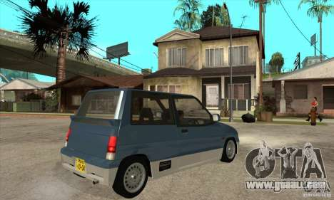 Suzuki Alto Works for GTA San Andreas right view