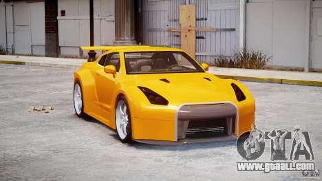 Nissan Skyline R35 GTR for GTA 4 right view