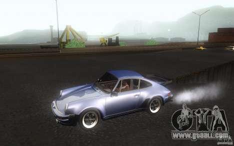 Porsche 911 Turbo 1982 for GTA San Andreas