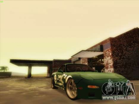 Mazda RX7 rEACT for GTA San Andreas