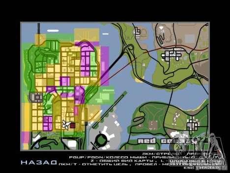 San Fierro and Los Santos Gang Zone for GTA San Andreas second screenshot