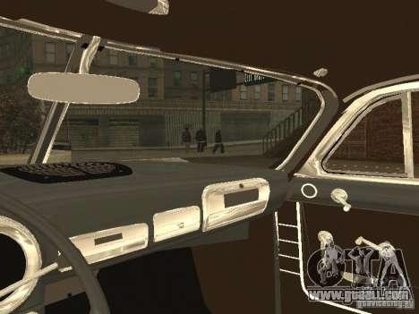 Hudson Hornet 1952 for GTA San Andreas back view
