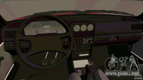 Audi Sport quattro 1983 for GTA San Andreas back view