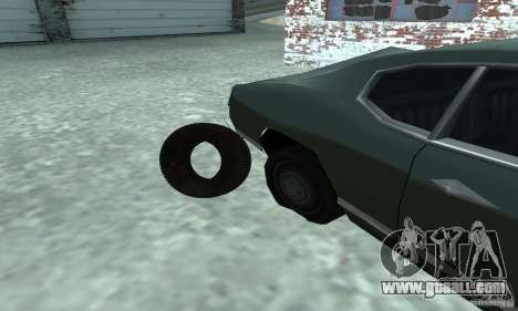 Tires for GTA San Andreas right view
