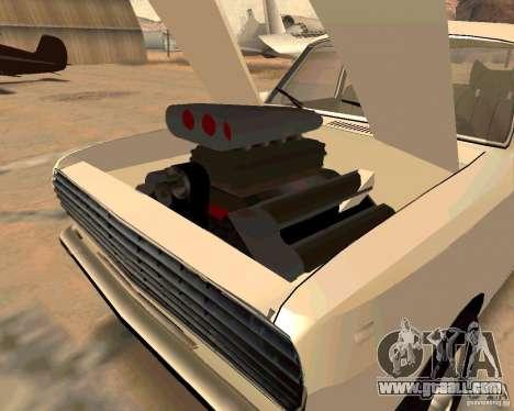 GAZ Volga 2410 Hot Road for GTA San Andreas interior