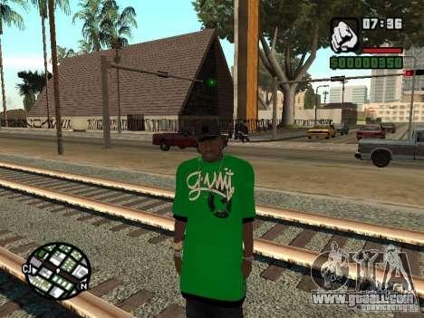 3 skin replacement Cj for GTA San Andreas third screenshot