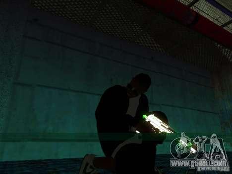 New thick Ballas for GTA San Andreas third screenshot