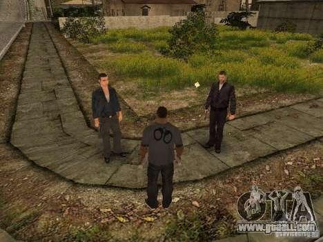 MAFIA Gang for GTA San Andreas forth screenshot