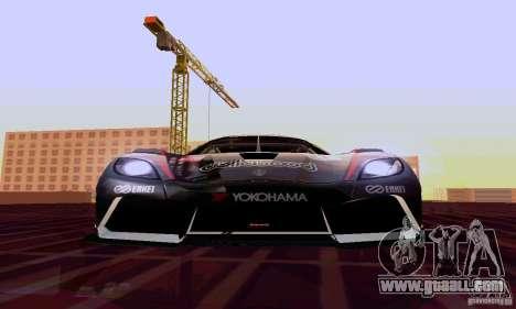 Koenigsegg Agera R for GTA San Andreas side view